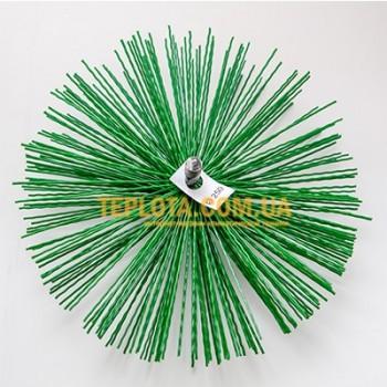 Пластиковая щетка для чистки дымохода диаметром 150 мм