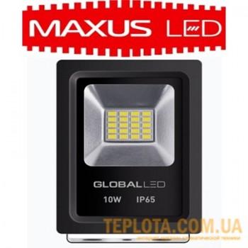 Светодиодный прожектор LED Global FLOOD LIGHT 10W 5000K 600Lm (1-LFL-001)