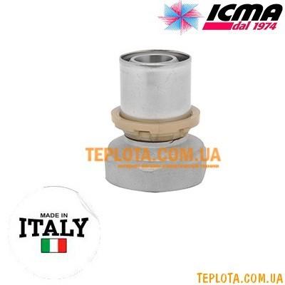 Пресс-фитинг прямой с внутренней резьбой 3)4*-20 ICMA SEMPITER арт.401