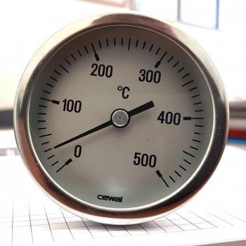 Термометр врезной для тандыра SEWAL (500°C, 15 см)