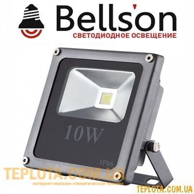 Светодиодный прожектор  BELLSON LED 10W Slim 4000K 920lm