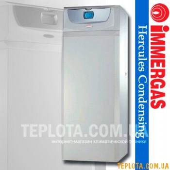 IMMERGAS HERCULES CONDENSING ABT 32 2 kW (с бойлером 120л и дополнительным контуром теплый пол) Конденсационный газовый котел