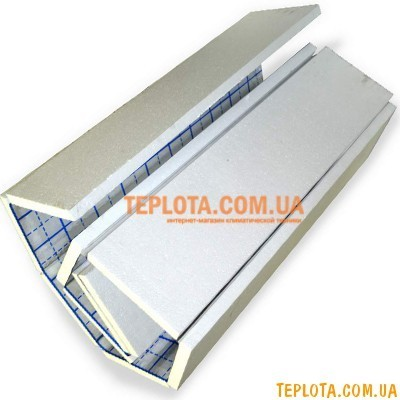 Изоляция под теплый пол PENOROLL с полипропиленовой тканью, толщиной 50 мм