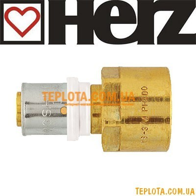 Пресс-фитинг HERZ муфта с внутренней резьбой д.20х2-1)2* мм, арт.P702021