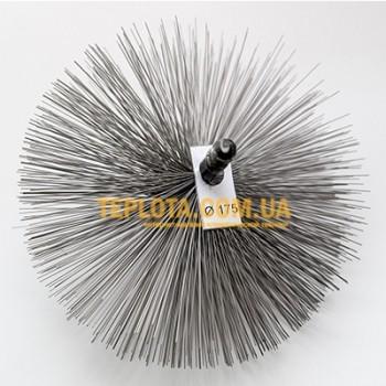 Щетка из стали для чистки дымохода диаметром 175 мм