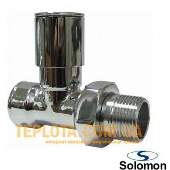 Solomon кран радиаторный нижний, прямой, 1)2*