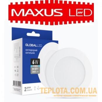 Светодиодный светильник mini Maxus GLOBAL LED SPN 6W 4100K 220V