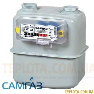Счетчик газа мембранный САМГАЗ G 4 RS-2001-22