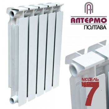 Радиатор биметаллический Алтермо 7 (500х96) цена за 10 секций