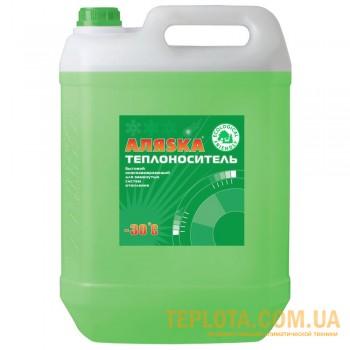 Теплоноситель для систем отопления АЛЯСКА (антифриз, тосол для отопления - температура до -30°С, канистра 10 литров)