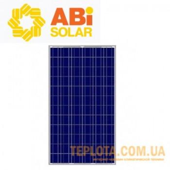 Солнечная батарея  ABi-Solar 260 Вт 24 В, поликристаллическая (Grade A CL-P60260-D)