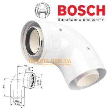 Коаксиальный угол 90гр. BOSCH AZ 393, д.60-100 мм, арт 7736995079