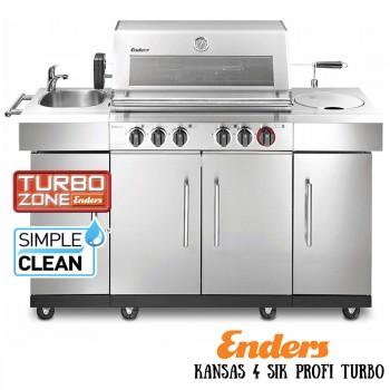 Газовый гриль Enders Kansas 4 SIK Profi Turbo