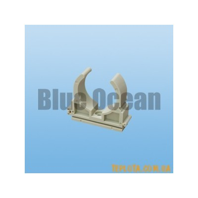 BLUE OCEAN Крепление для труб одинарное *U* - типа диаметр 25мм