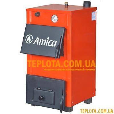 Твердотопливный котел Amica Optima AO14 (мощность 14 кВт)