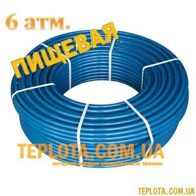 Труба полиэтиленовая Ворскла пласт ПНД PN 6 d25 (бухта 200 м)