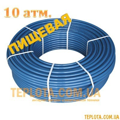 Труба полиэтиленовая Ворскла пласт ПНД PN 10 d25 (бухта 200 м)