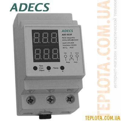 Реле защиты сети однофазное ADECS ADC-0110-32