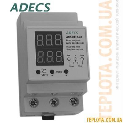 Реле защиты сети однофазное ADECS ADC-0110-40