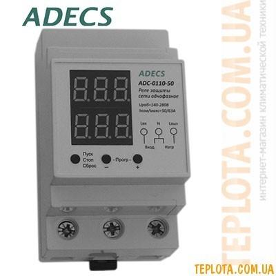 Реле защиты сети однофазное ADECS ADC-0110-50