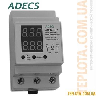 Реле защиты сети однофазное ADECS ADC-0111-40