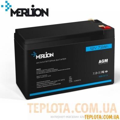 Аккумуляторная батарея мультигелевая MERLION MLB-12-7.2, 12V 7.2Ah