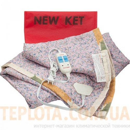 Электропростынь (Электроматрас) KET ELECTRIC, 2-х спальный, вискоза (145 х 155 см), Турция