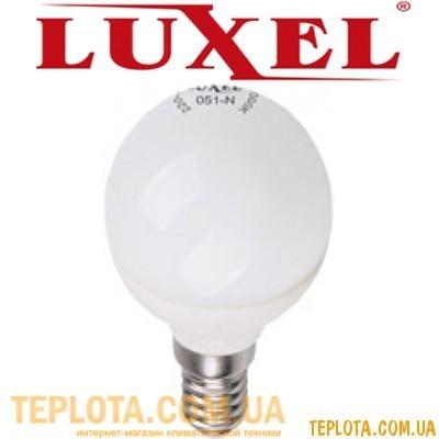 Светодиодная лампа Luxel LED G-45 3W E14 4100K