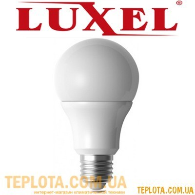 Светодиодная лампа Luxel LED A-65 12W E27 4100K