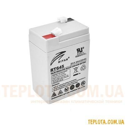 Аккумуляторная батарея RITAR RT645 6V - 4.5Ah