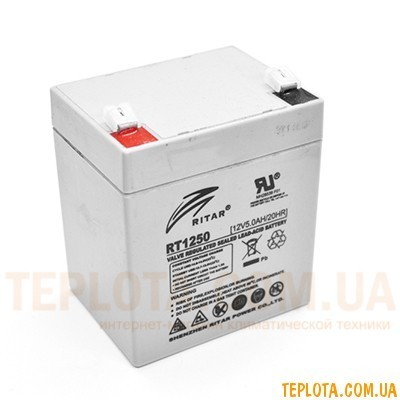 Аккумуляторная батарея RITAR RT1250 12V - 5.0Ah