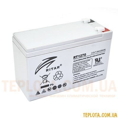 Аккумуляторная батарея RITAR RT1270 12V - 7.0Ah