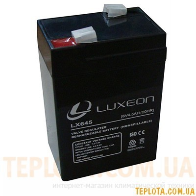 Аккумуляторная батарея LUXEON LX 645 (под фонари)