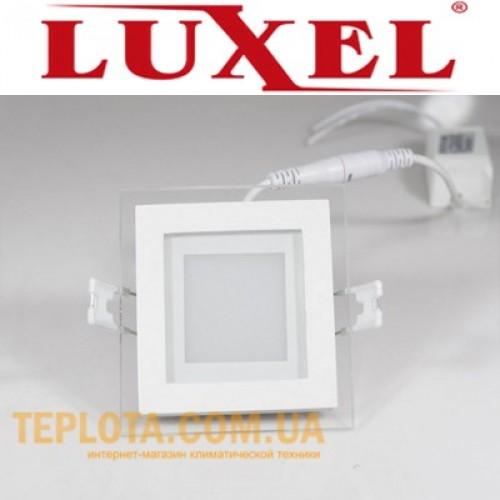 Светодиодный светильник LUXEL LED 6W 4000K  96х96 мм