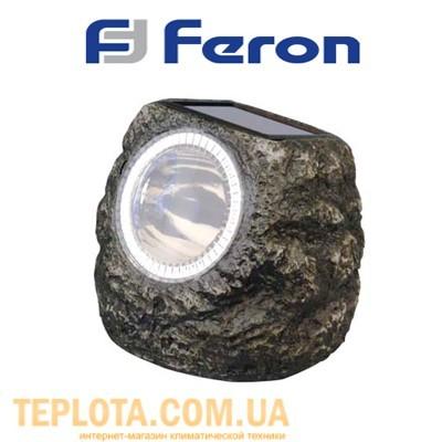 Светодиодный светильник садовый на солнечной батарее *Камень* Feron (E5220)