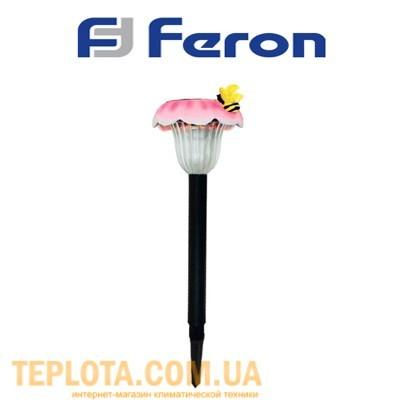 Светодиодный светильник садовый на солнечной батарее Feron *Пчела на цветке* (GL17)