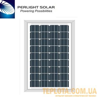 Солнечная батарея Perlight Solar 120 Вт 12 В, монокристаллическая (Grade A PLM-120M-36)