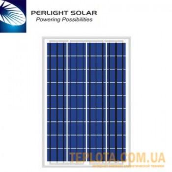 Солнечная батарея Perlight Solar 150 Вт 12 В, поликристаллическая (Grade A PLM-150P-36)