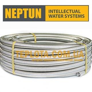 Гофрированная труба Neptun IWS SS304 15A отожженная для водяного теплого пола