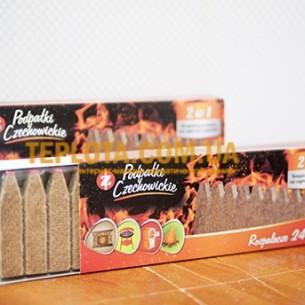Спички длительного горения Czechowice в картонной выдвижной упаковке (24 шт.)