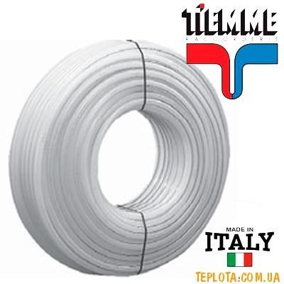 Труба для теплого пола TIEMME из сшитого полиэтилена высокой плотности с антикислородным барьером, 16мм