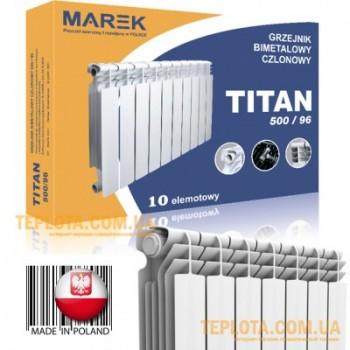 Биметаллический радиатор MAREK TITAN 500-96