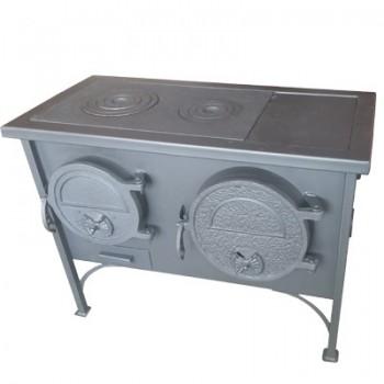 Отопительно-варочная печь ВИТ *ЭКТОР* с духовым шкафом (мощность 11 кВт)
