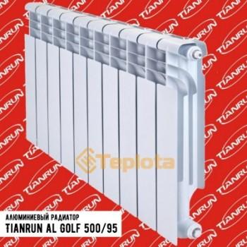 Радиатор алюминиевый Tianrun Golf Al 500-95 (с возможностью нижнего полключения)