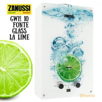 Газовая колонка Zanussi GWH 10 Fonte Glass La Lime