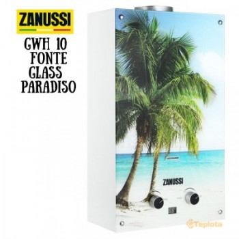 Газовая колонка Zanussi GWH 10 Fonte Glass La Paradiso