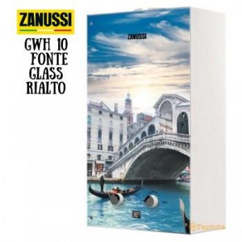Газовая колонка Zanussi GWH 10 Fonte Glass La Rialto