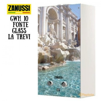 Газовая колонка Zanussi GWH 10 Fonte Glass La Trevi