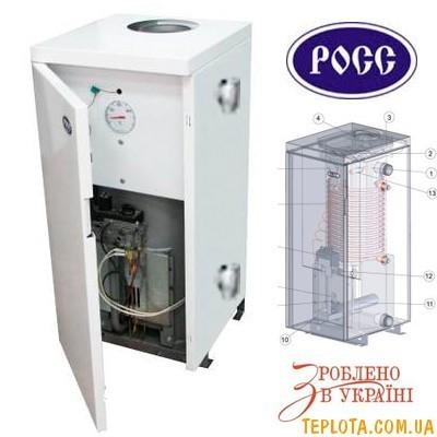 Газовый котел РОСС АОГВ-8 Э (класс Премиум)