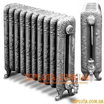 Чугунный дизайнерский радиатор CARRON Daisy (высота 595 мм)